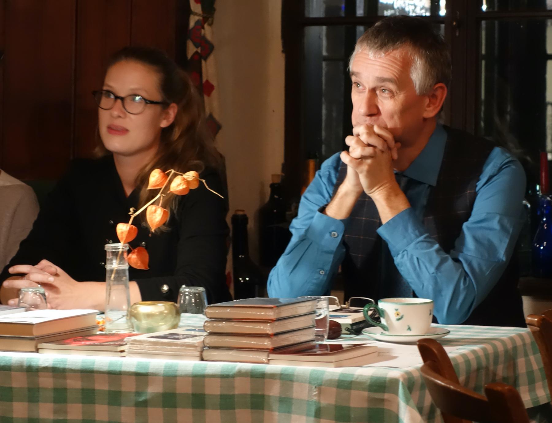 Klaus Ebner bei einer Lesung